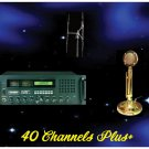 "40 Channels Plus Radio Poster 18"" x 24"""