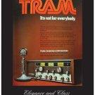 "Tram D201 Vintage CB Radio Poster 18"" x 24"""