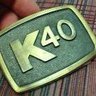 Vintage Original K-40 Belt Buckle NOS - NEW