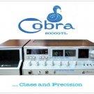 "Cobra 2000GTL AM/SSB Vintage CB Radio Poster 18"" x 24"""