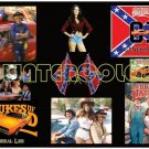 "24 x 36"" Dukes of Hazzard Collage Poster - Great colors!"