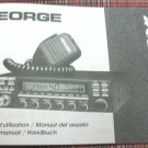 President George AM/FM/SSB CB Radio Owners Manual