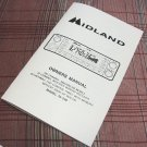 Midland 79-290 AM/SSB CB Radio Owners Manual