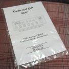 General HP AM/FM/SSB Export CB Radio Owners Manual