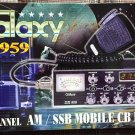 Galaxy DX-959 40 Channel AM/SSB CB Radio - BRAND NEW NEVER OPENED