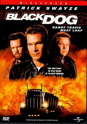 Black Dog DVD - Patrick Swayze, Meat Loaf, Randy Travis (1998)