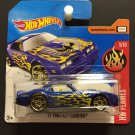 Hot Wheels '77 Pontiac Trans Am w/flames SHORT CARD