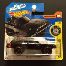 Hot Wheels Fast & Furious '70 Dodge Charger SHORT CARD