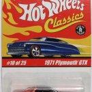 Hot Wheels Classics '71 Plymouth GTX - Bronze - Series 1