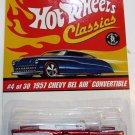 Hot Wheels Classics 1957 Chevy Bel Air Convertible - Series 2