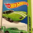 2014 Hot Wheels Dodge Charger Daytona *GREEN* #234