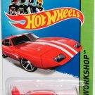 Hot Wheels 2014 HW WORKSHOP - Muscle Mania '69 Dodge Charger Daytona - RED