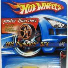 Hot Wheels 2006 Muscle Mania FTE 1971 PLYMOUTH GTX #101