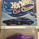 '40 Ford Coupe * Purple * Hot Wheels Cool Classics *