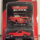 Greenlight Auction Block * 1965 Ford Mustang GT * RED *