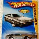 2010 Hot Wheels NEW MODELS '81 Delorean DMC-12 - Silver