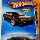 2010 Hot Wheels NEW MODELS '81 Delorean DMC-12 - BLACK