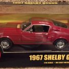 ERTL American Muscle RED Limited Edition 1967 Shelby GT-500 1/18 Diecast