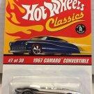 1967 Camaro Convertible #7 * CHROME * Classics Hot Wheels *
