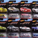 Hot Wheels Fifty Years Anniversary Edition Set of 8 Camaros