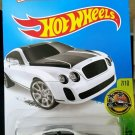 2015 Hot Wheels Bentley Continental Supersports - White HW Exotics