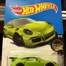 Hot Wheels Porsche 911 GT3 RS - Green - Nightburnerz