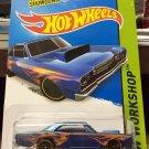 Hot Wheels '68 Dodge Dart - BLUE w/Flames - HW Workshop