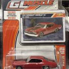 Greenlight Muscle 1970 Chevrolet Chevelle SS - Rouge/Red - Series 17