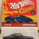Hot Wheels 1970 Chevelle #8 * Dark BLUE * Classics Hot Wheels *