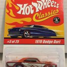 Hot Wheels 1970 Dodge Dart #3 * Orange * Classics Hot Wheels *