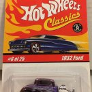 Hot Wheels 1932 Ford #6 * PURPLE * Classics Hot Wheels *