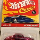 Hot Wheels Classics '40 Ford Coupe #19 * Pink * Series 2