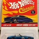 Hot Wheels Classics Shelby Cobra 427 S/C #20 * BLUE * Series 2