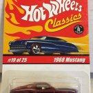 Hot Wheels Classics 1968 Mustang #19 * Copper * Series 1