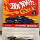 Hot Wheels Classics 1967 Camaro Convertible #7 * CHROME *