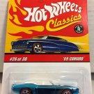 Hot Wheels Classics '69 Camaro #26 * BLUE * Series 3