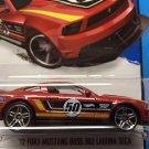 2013 Hot Wheels '12 Ford Mustang Boss 302 Laguna Seca - HW City 91/250
