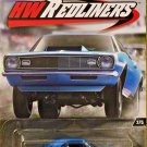 2017 Hot Wheels Redliners Car Culture 3/5 '68 COPO CAMARO Blue DWH85