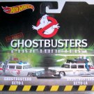 2016 Hot Wheels Retro Entertainment 2-Pack ECTO-1 & ECTO-1A (Classic Ghostbusters)
