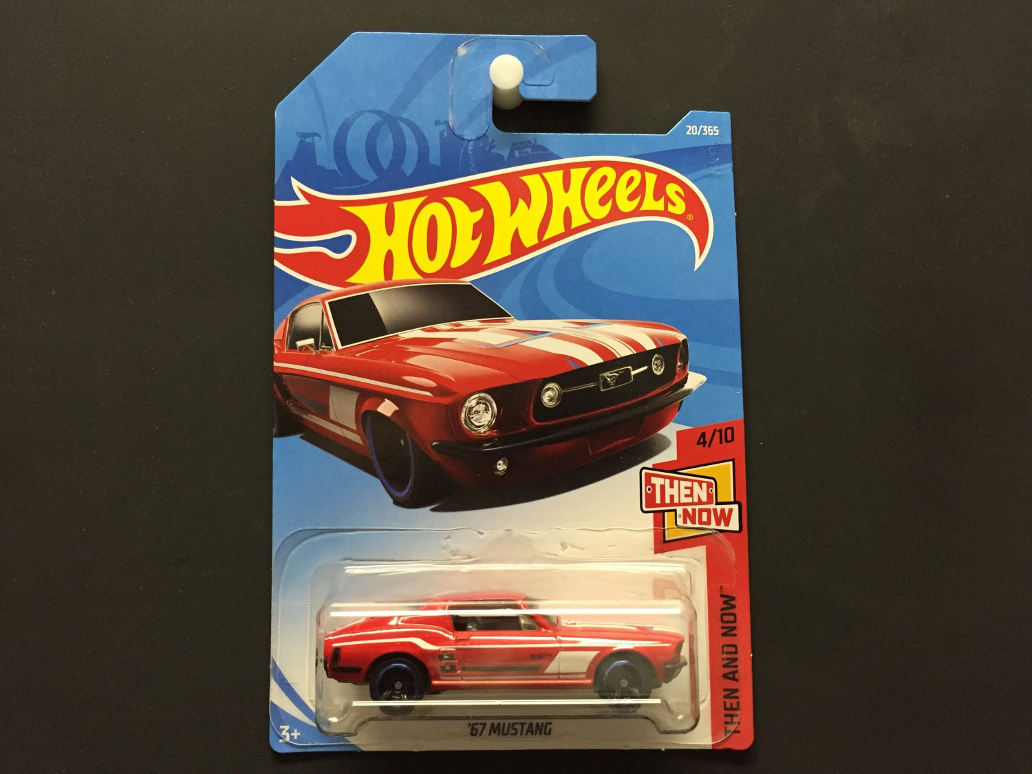 Hot wheels 67 ford mustang then and now 2018