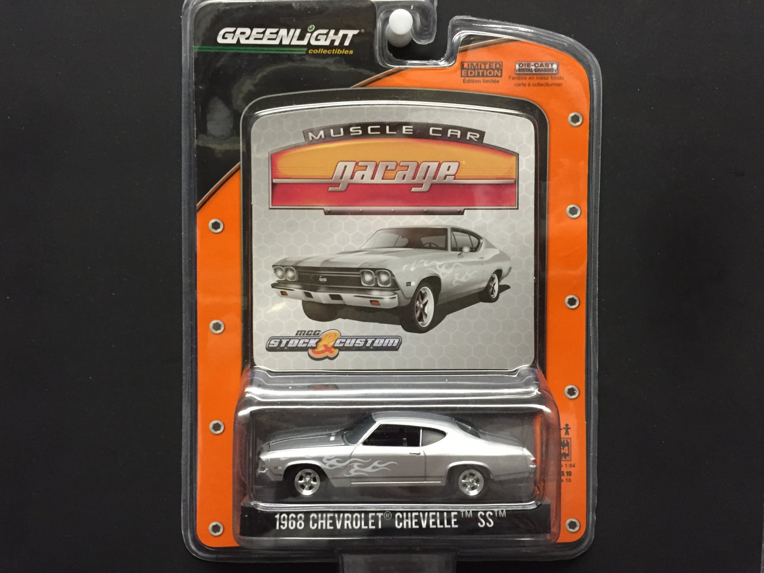 Greenlight Collectibles Muscle Car Garage 1968 Chevrolet Chevelle Ss