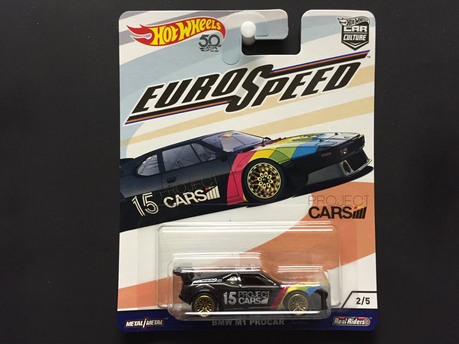 2018 Hot Wheels 50th Anniversary Car Culture Euro Speed Bmw M1