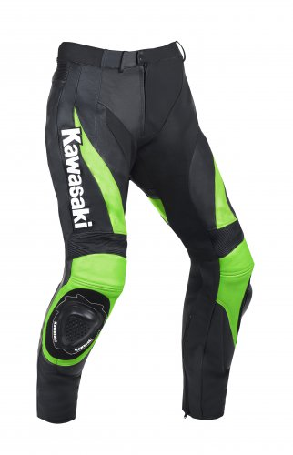Kawasaki Motorcycle Leather Pants