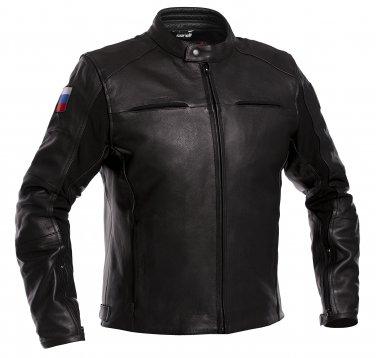 Russia Biker Leather Jacket