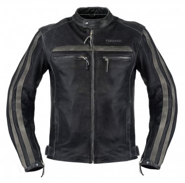 VägVargen Limitless Retro Leather Jacket