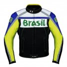 Brazil  Biker Leather Jacket