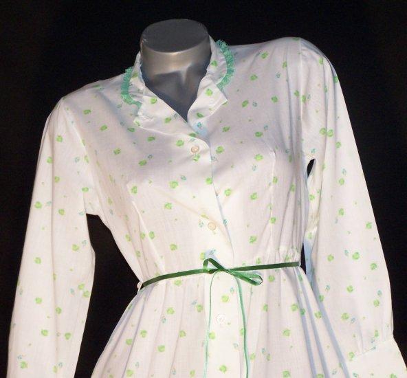 Vintage Katz Coat House Dress Boho Emo Super Cute! ~