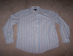 Aeropostale Striped Men's Shirt L NEW NWT