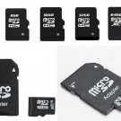 Memory Card mini Transflash Adapter+Micro SD Card 4gb