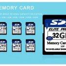32gb SD Card for Camera Class 10 SDXC memory card SDH16